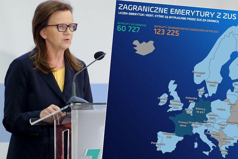 Zagraniczne emerytury to szansa na bezpieczną starość dla Polaków. Za granicą pracuje ponad 2 mln osób - i oni nabędą uprawnienia