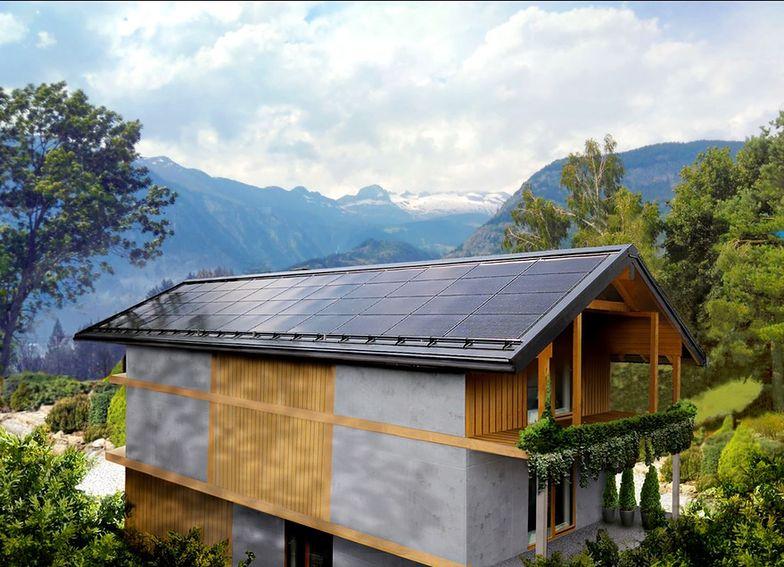 """Dom w stylu """"nowoczesnej stodoły"""" z bardzo nietypowym dachem"""