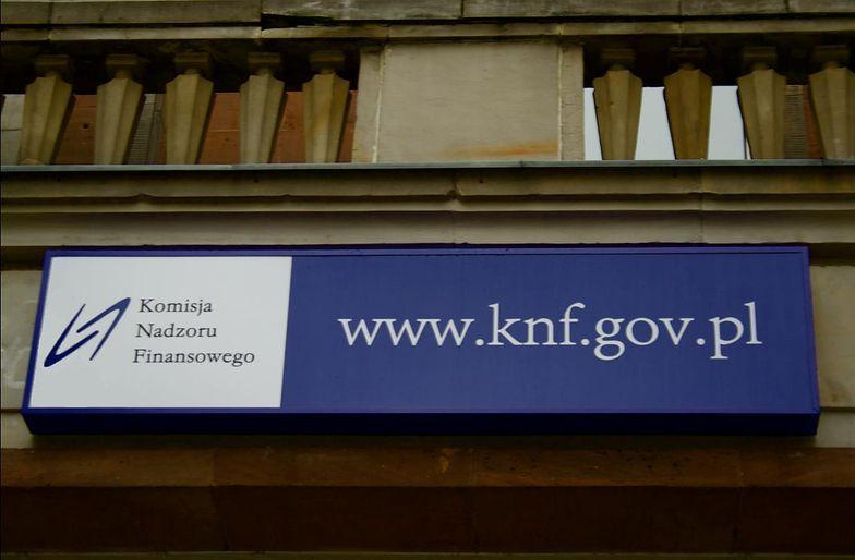 KNF ostrzega przed kolejną firmą. Jest też zgłoszenie do prokuratury