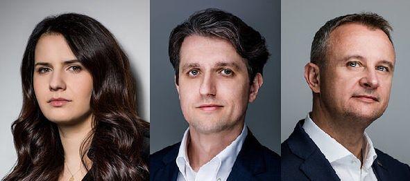 W skład zarządu PMPG Polskie Media wchodzą Ewa Rykaczewska, Piotr Piaszczyk i Robert Pstrokoński.