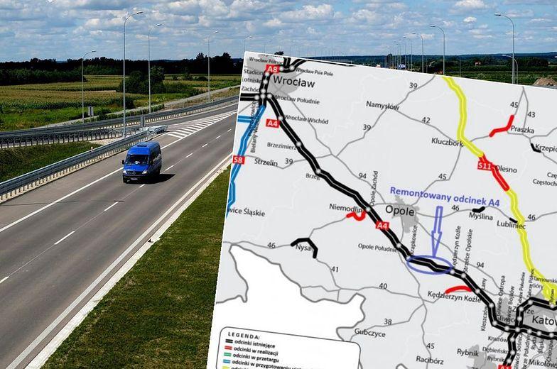 Remont autostrady A4. Szykują się korki