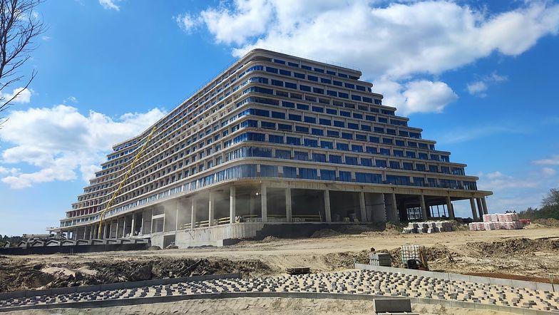 Nowy Gołębiewski już prawie gotowy. To największy hotel w Polsce