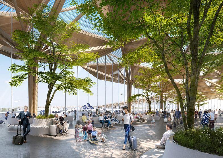 Terminal CPK. Koncepcja Foster + Partners