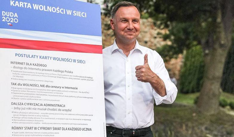 Na półtora tygodnia przed drugą turą wyborów Andrzej Duda zaprezentował kolejne postulaty
