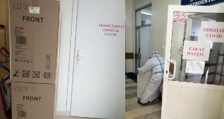 Milioner wyposaża oddziały covidowe. Twórca paczkomatów kupił lodówki i mikrofalówki