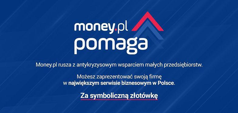 Ruszamy z akcją #moneypomaga. Masz firmę? Zgłoś się do nas po promocję za symboliczną złotówkę