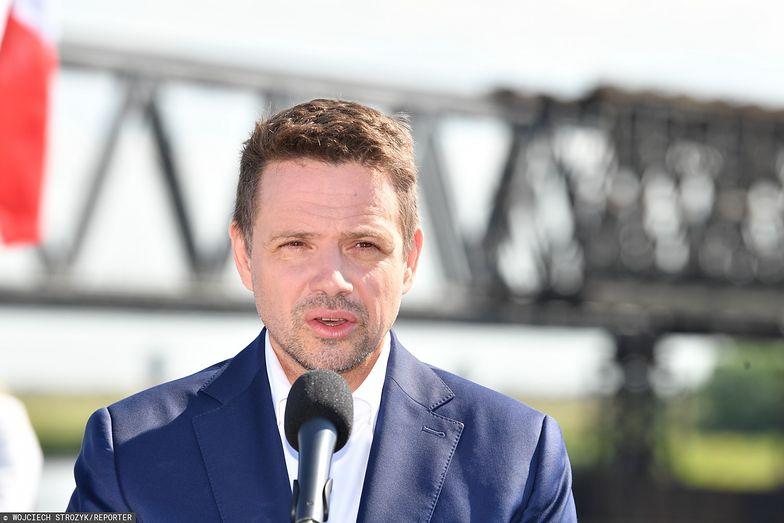"""Wybory prezydenckie 2020. Trzaskowski mówi stanowcze """"nie"""" podnoszeniu podatków"""