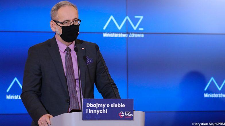 Koronawirus w Polsce. Niedzielski o nowych obostrzeniach