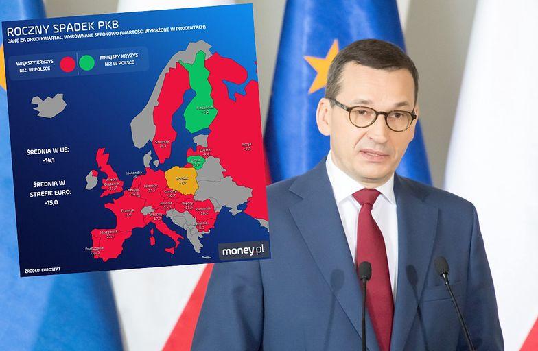 Polska jest wśród krajów, które najłagodniej przechodzą kryzys.
