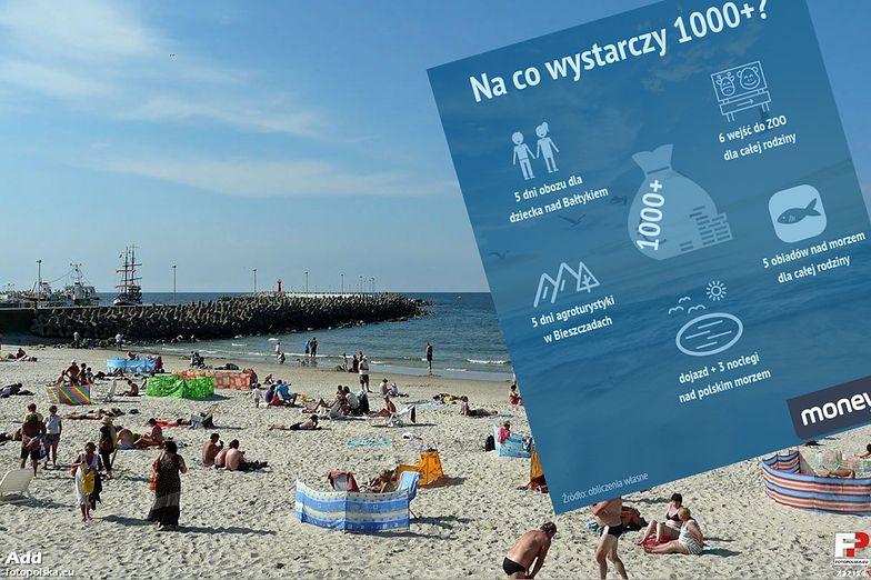 1000+ to nowy pomysł rządu. Władza chce dopłacać do wakacji w Polsce.