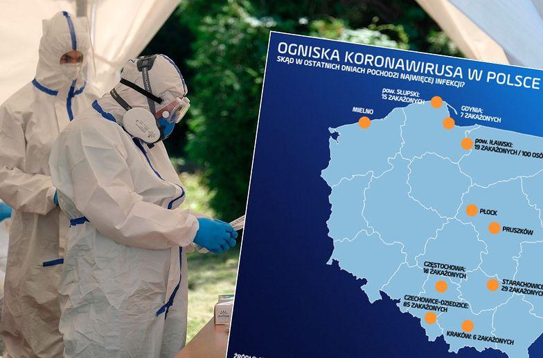 418 nowych przypadków wirusa w ciągu doby. To wynik niewidziany od miesiąca w Polsce