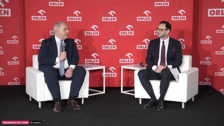 Minister Jacek Sasin i prezes Orlenu Daniel Obajtek podsumowali 4 miesiące prac związanych z przejęciem Energi.