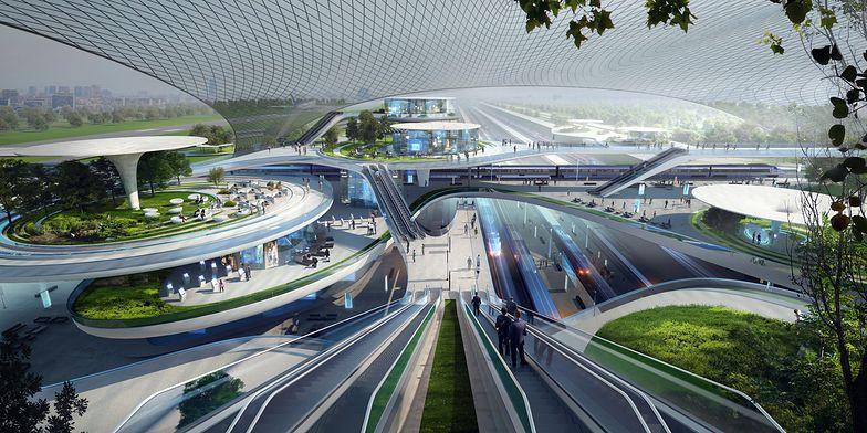 Jedna z koncepcji architektonicznych CPK