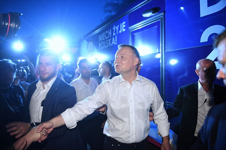 Andrzej Duda wygrał w pierwszej turze wyborów prezydenckich.