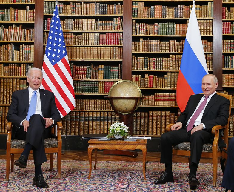 Rozmowy Biden-Putin. Podaje listę sektorów, które nie powinny być celem cyberataków