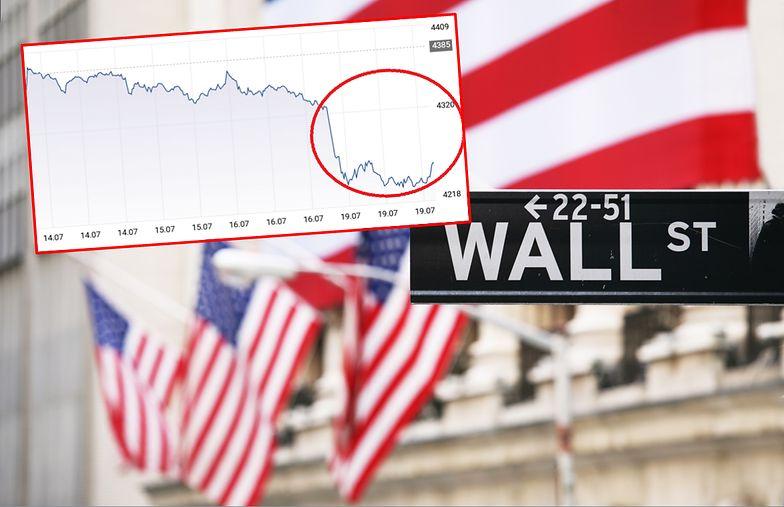 Amerykańska giełda spada ze szczytu. Za nami najgorsza sesja od 9 miesięcy
