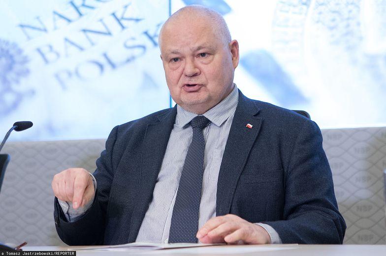 Prof. Adam Glapiński stoi na czele NBP i RPP.