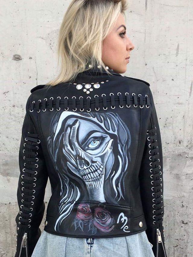 – Uwielbiam malować i uwielbiam ciuchy. I tak mi się to połączyło, że powstał pomysł na ME Custom Jackets, czyli na unikatowe, ręcznie zdobione kurtki – wspomina Malwina Faba