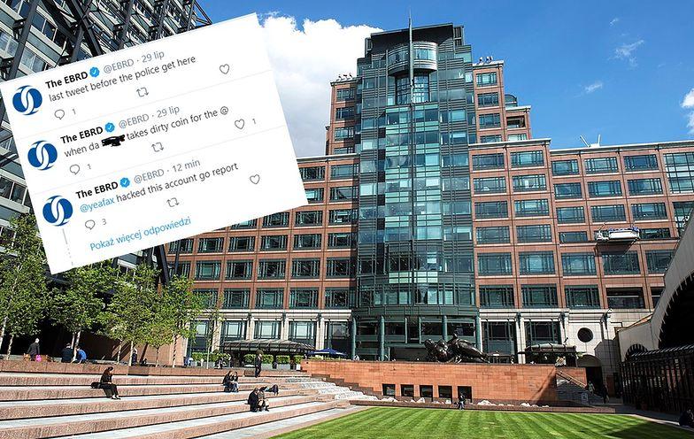 W środę na oficjalnym koncie twitterowym Europejskiego Banku Odbudowy i Rozwoju pojawiło się mnóstwo obraźliwych i wulgarnych wpisów