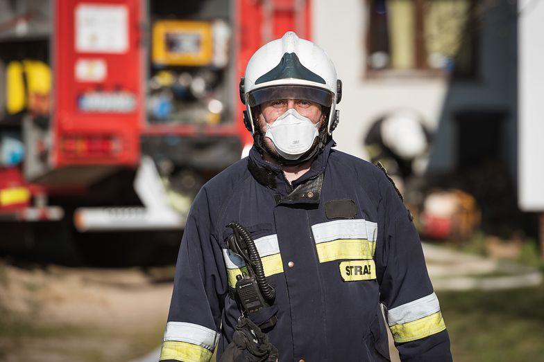 Akcja w elektrowni Jaworzno. Straż pożarna uruchomiła 18 zastępów