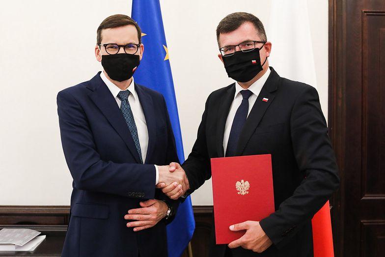 Zmiany w MRiT. Piotr Uściński nowym wiceministrem