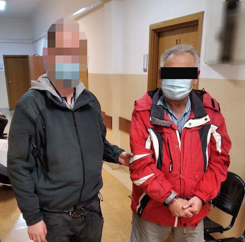 72-latek dilował z mężem wnuczki. Wpadł z kilogramem marihuany w bagażniku
