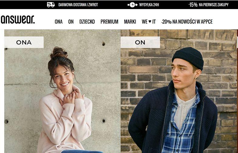 Answear.com nie narzeka na COVID. Sprzedaż kolekcji lepsza niż rok wcześniej
