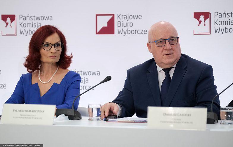 Państwowa Komisja Wyborcza podała cząstkowe wyniki wyborów prezydenckich.