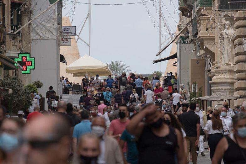 Wjazd na Maltę tylko dla zaszczepionych. Rząd wprowadza obostrzenia
