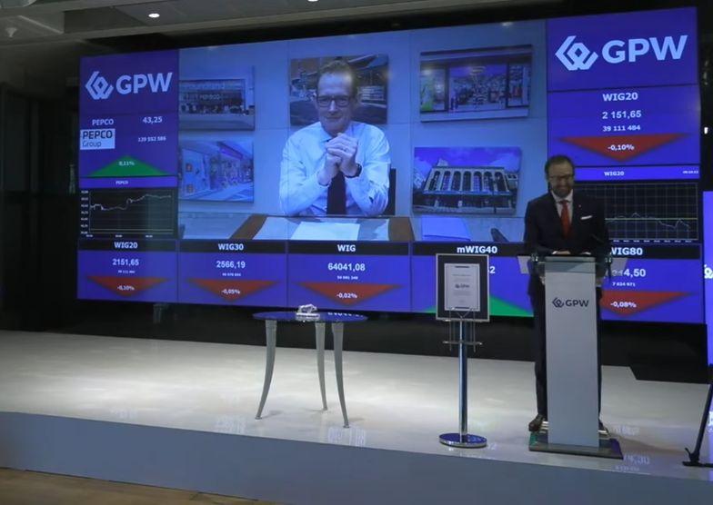 Pepco debiutuje na giełdzie w Warszawie. Akcje dały zarobić