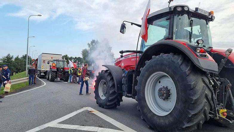 Protest rolników. Blokady również w środę