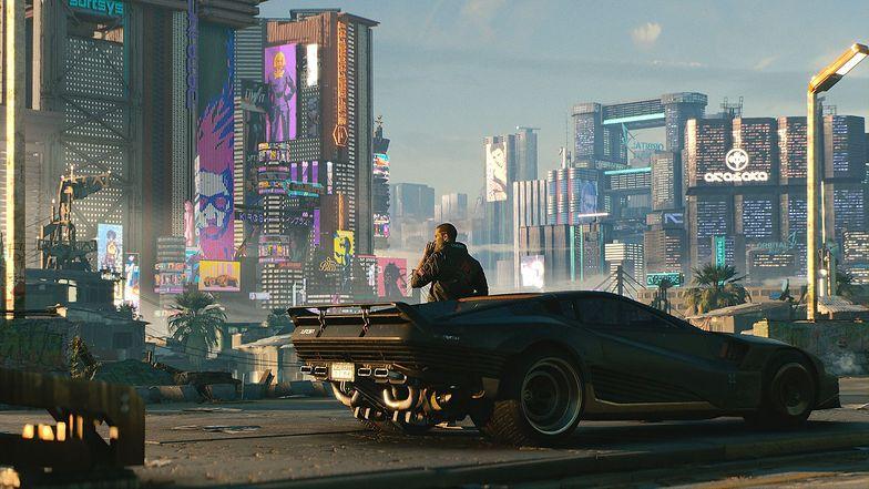Cyberpunk 2077. Sony wstrzymało sprzedaż. Kurs akcji mocno w dół