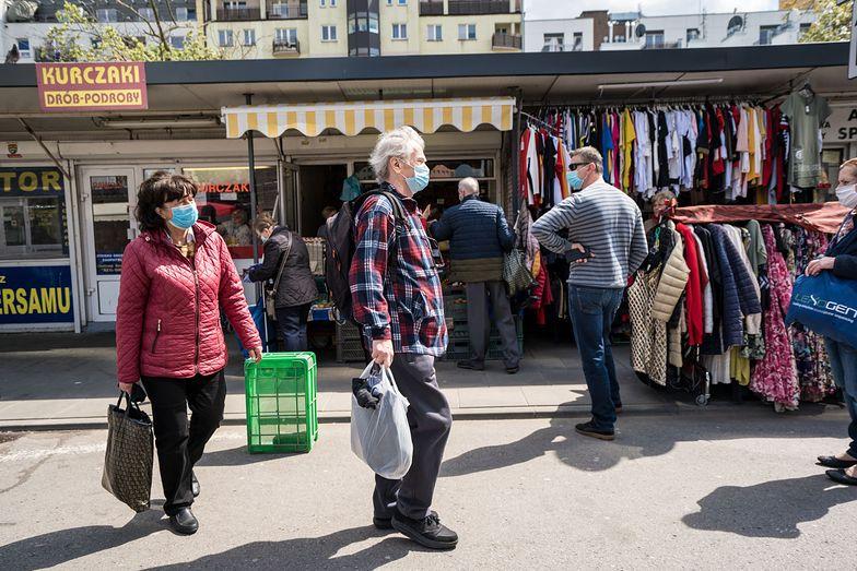 Eurostat: Sprzedaż detaliczna w Polsce spadła o 9,9% r/r w kwietniu