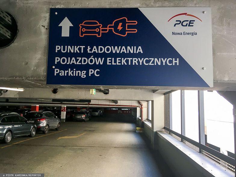 PGE rezygnuje z ładowania samochodów elektrycznych