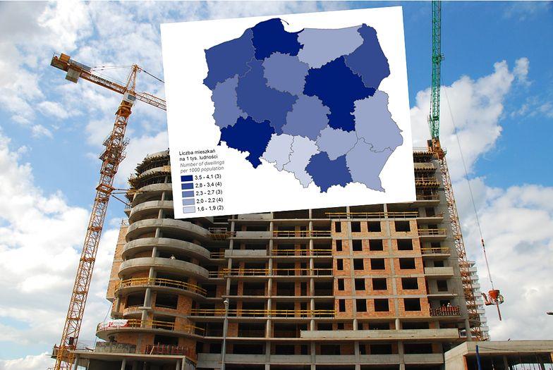 Ponad 100 tys. nowych mieszkań. Zobacz, gdzie buduje się najwięcej
