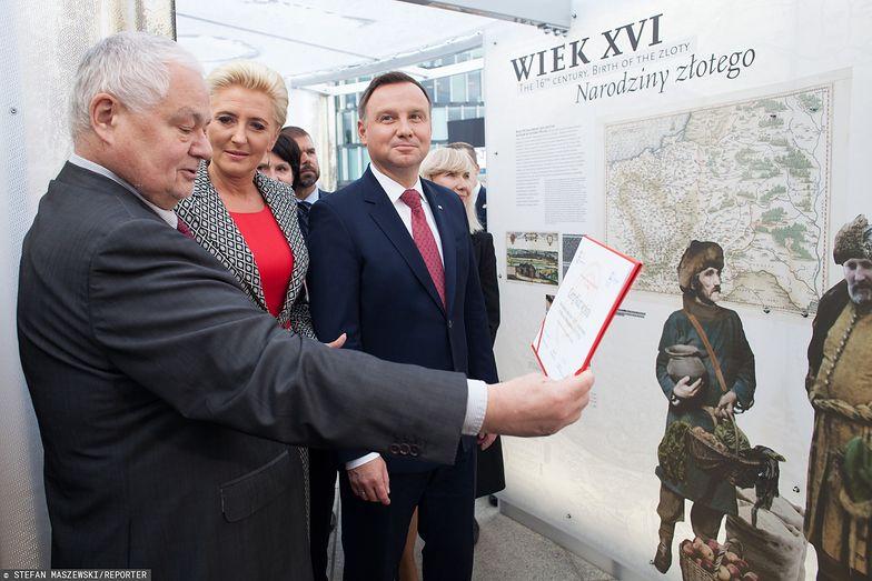Prezydent wybiera kandydata na prezesa NBP. Kadencja Adama Glapińskiego (na zdjęciu) kończy się za 2 lata.
