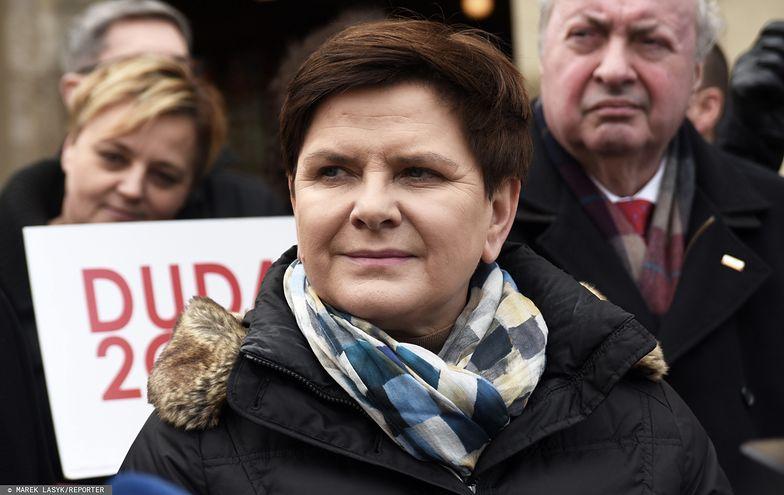Beata Szydło, była premier a obecnie europosłanka.
