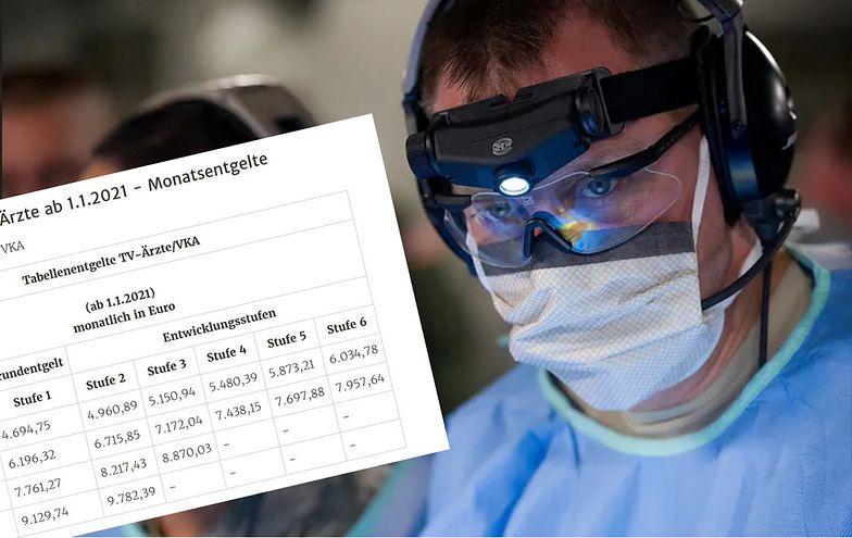 Niemcy kuszą polskich lekarzy. Zarobki nieporównywalne. Ilu wyjedzie?