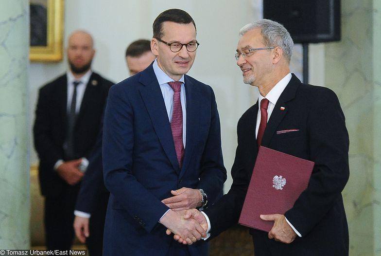Premier Mateusz Morawiecki i minister Jerzy Kwieciński przedstawili budżet na 2020 rok