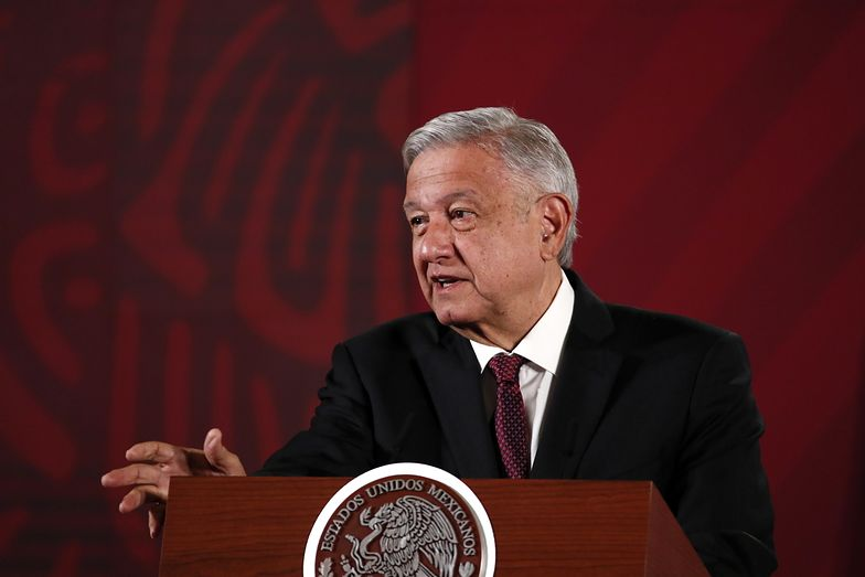 Andres Manuel Lopez Obrador, prezydent Meksyku. Wcześniej jego kraj blokował porozumienie