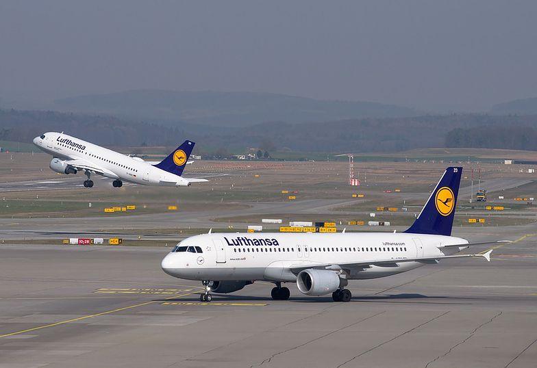 Lufthansa traci milion euro na godzinę