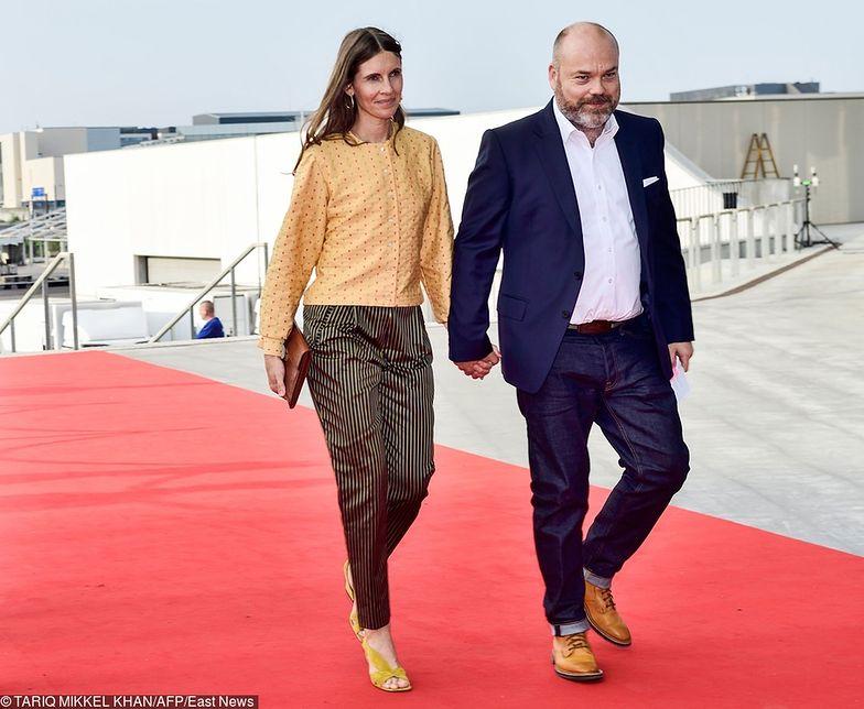 Anders Holch Povlsen z żoną Anne - mimo miliardów na koncie - dzieci posłali do szkoły publicznej.