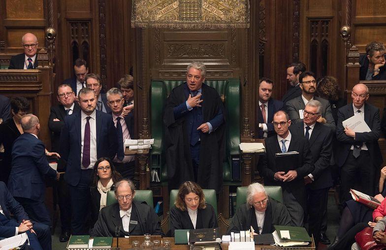 John Bercow przewodniczy obradom Izby Gmin