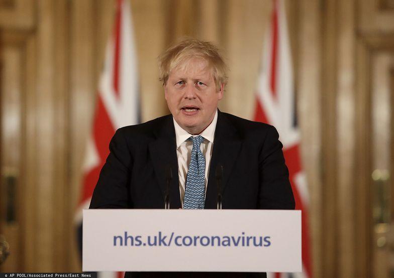 - Musimy działać tak, jak każdy rząd w sytuacji wojny - zapowiedział Boris Johnson.
