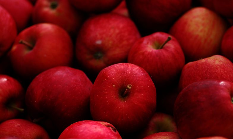Sklepy rekordowo promują jabłka, ale nie obniżają cen. A od producentów kupują je coraz taniej