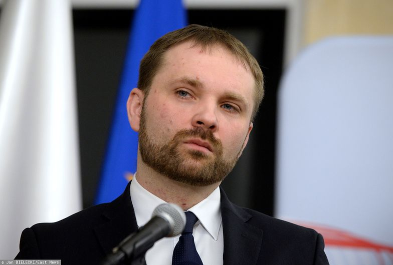Przemysław Koch (na zdjęciu) z Ministerstwa Finansów przedstawia program Poltax Plus.