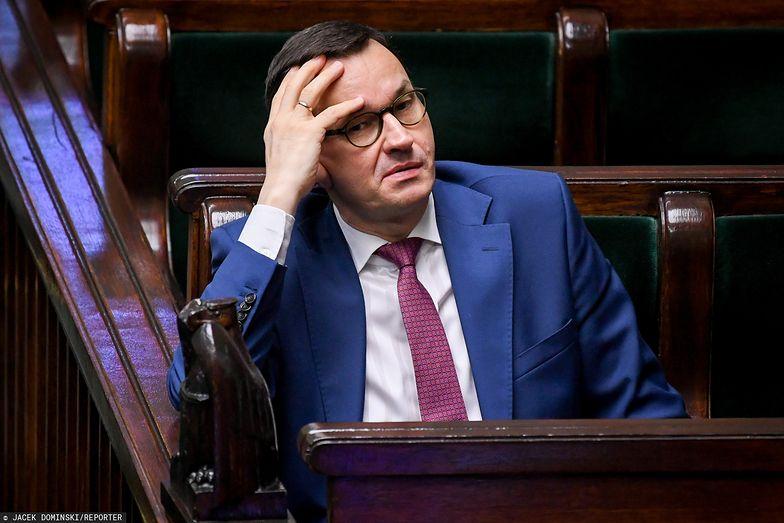 Premier Morawiecki w poniedziałek apelował do senatorów, by jak najszybciej przyjęli ustawy w ramach tarczy antykryzysowej