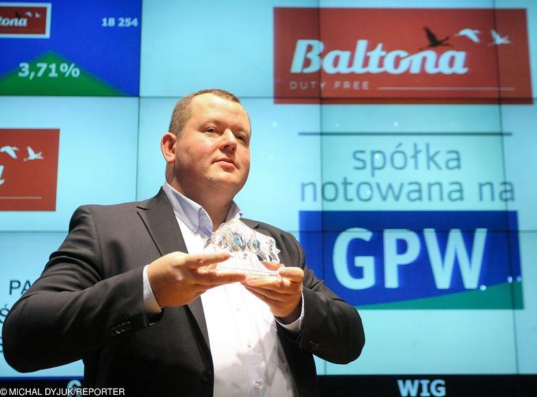 Baltona zadebiutowała na giełdzie w 2013 roku. Na zdjęciu jej ówczesny prezes Andrzej Uryga