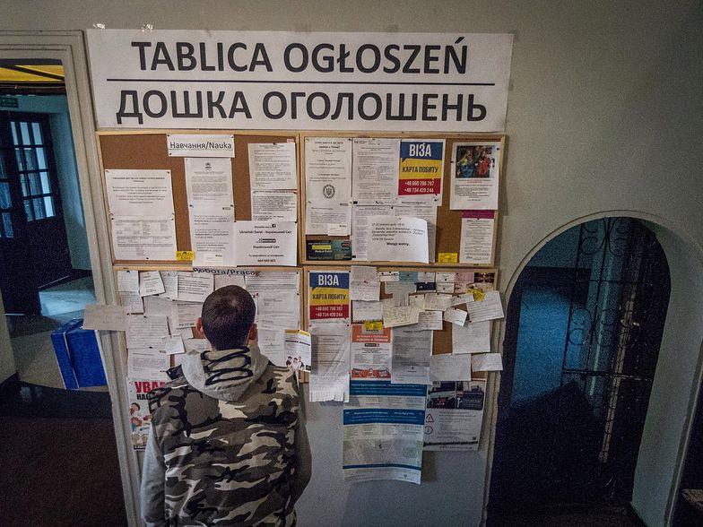W miastach dominują Ukrainki, ale na prowincji częściej można spotkać Ukraińców.