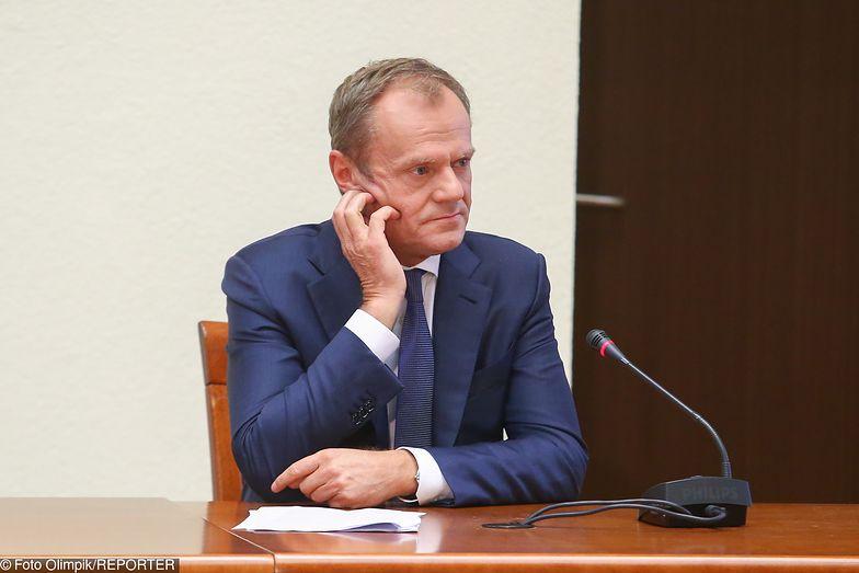 Donald Tusk będzie zeznawał przed komisją ds. VAT 17 czerwca